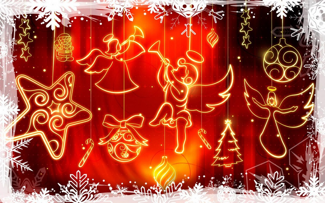 Cute Happy Valentines Day Wallpaper 2015 Merry Christmas And A Happy New Year Angels Singing Carols