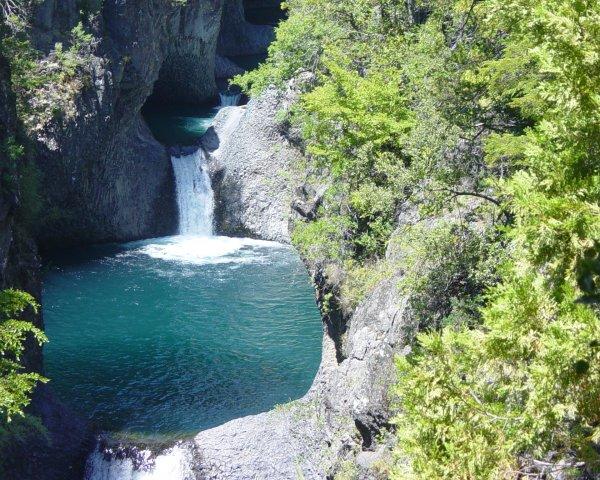 Parque Nacional Radal Siete Tazas.