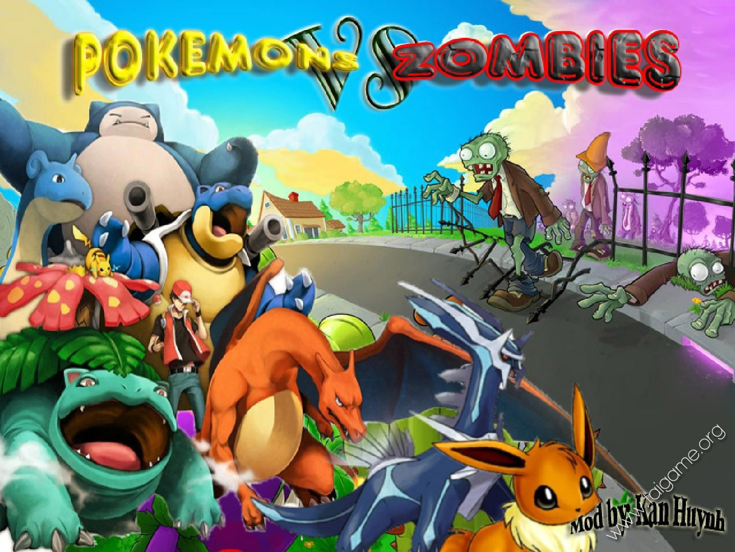 Adventure Time Wallpaper Hd Android Pokemon Plants Vs Zombies Pokemon Chống Th 226 Y Ma