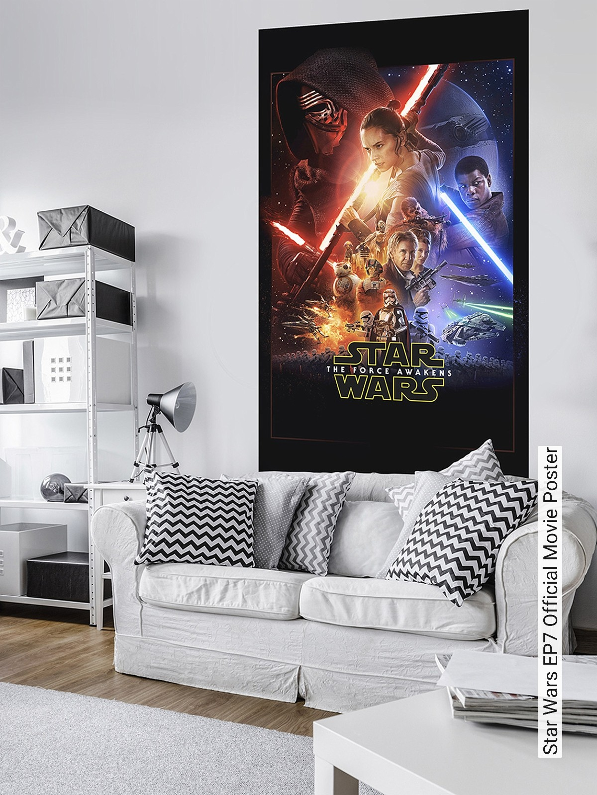 Poster Tapete Star Wars Ep7 Official Movie Poster