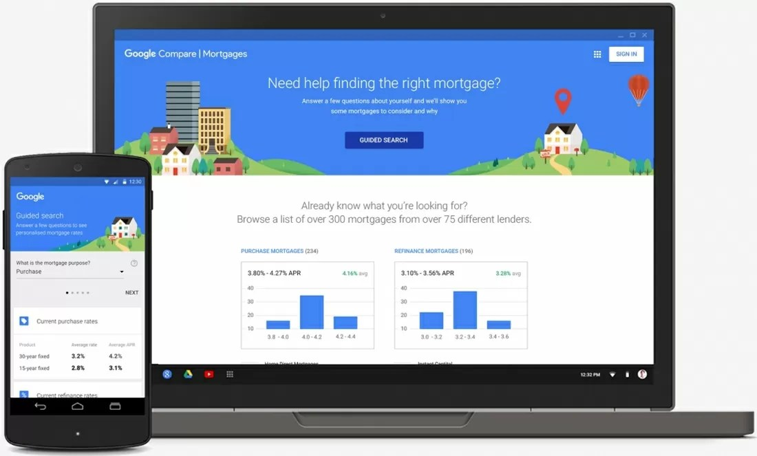 Google launches comparison tool for home mortgages - TechSpot