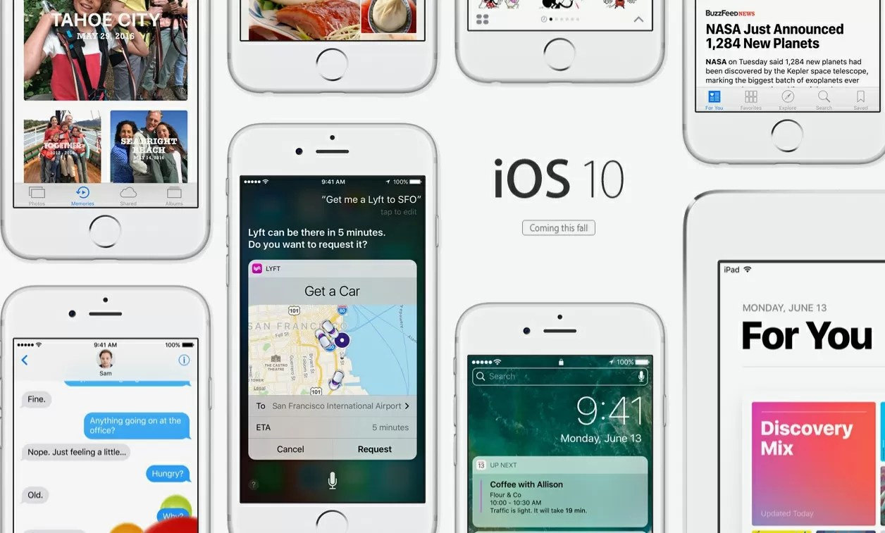 Ios 10 To Apple Showcases Ios 10 Revamped Notifications Emojis And 3d