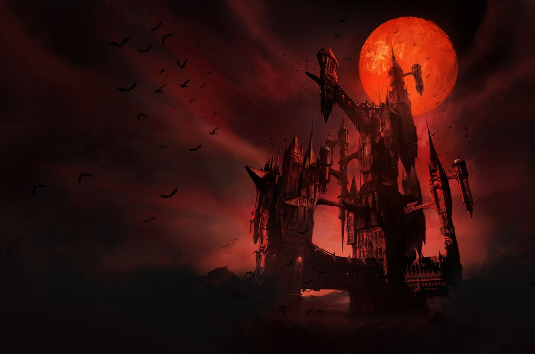 Red Devil Hd Wallpaper Wip Castlevania Dracula S Castle Polycount