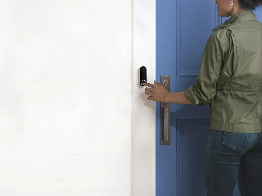 Camera Exterieur Ring Nest Unveils Video Doorbell Alarm System And Outdoor
