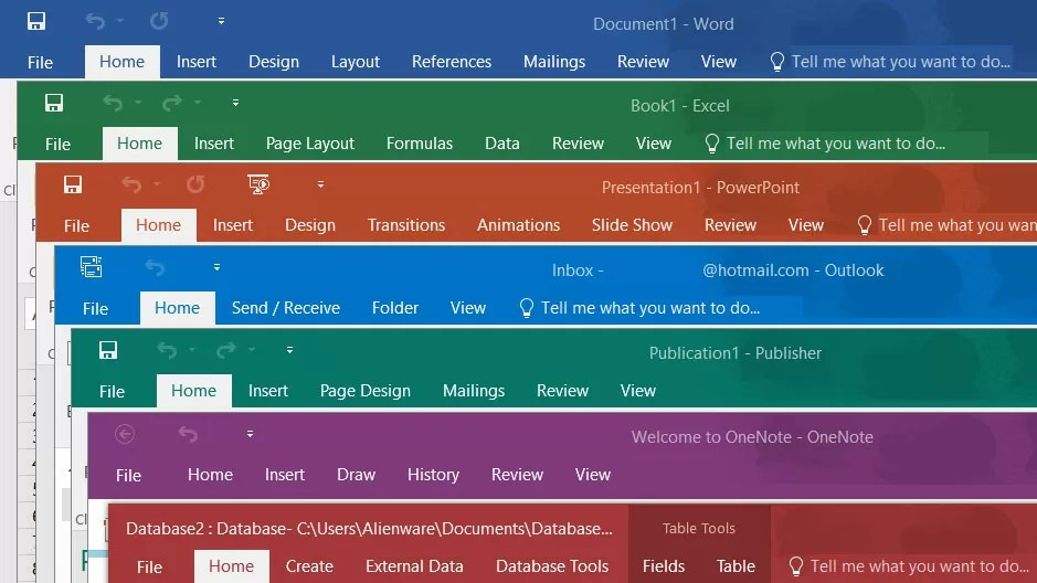 Microsoft announces Office 2019, coming next year - TechSpot - microsoft office versions comparison chart