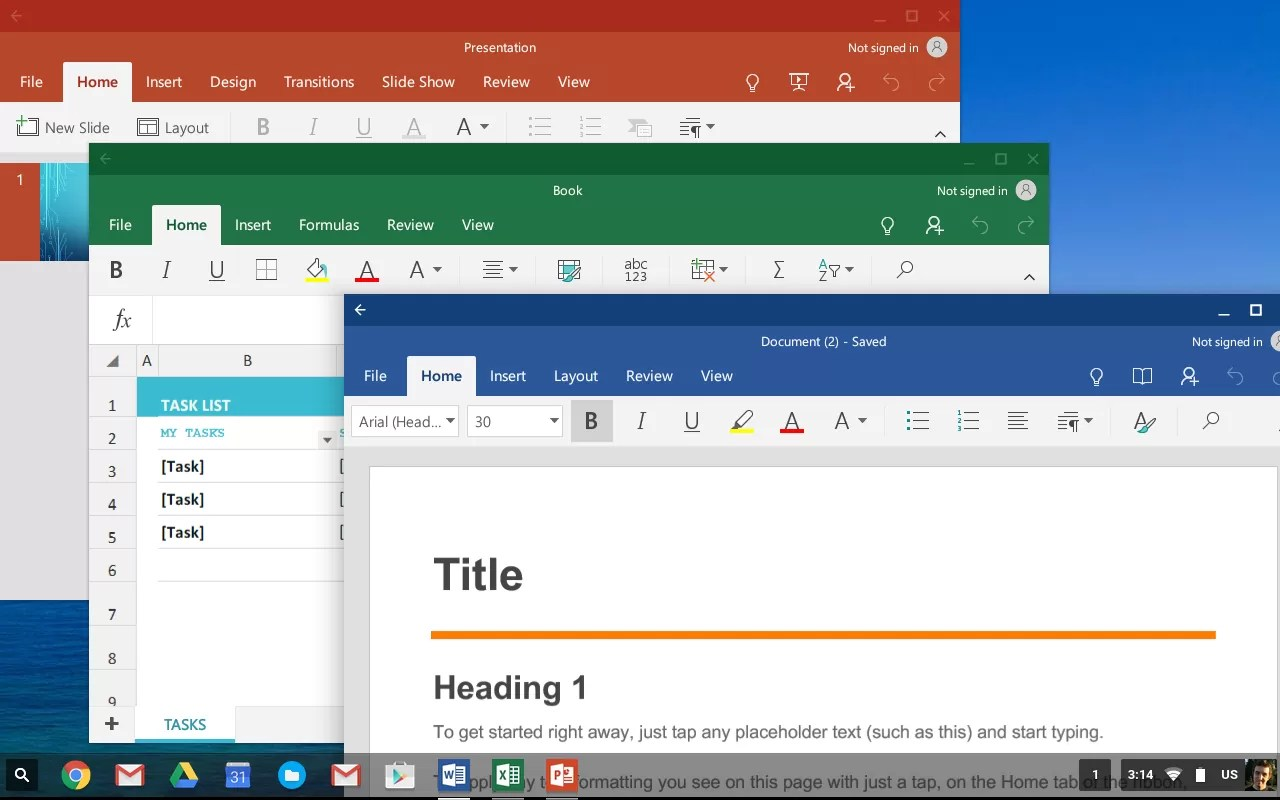 Update My Microsoft Office Microsoft Office Is Now Available On Every Chromebook Techspot