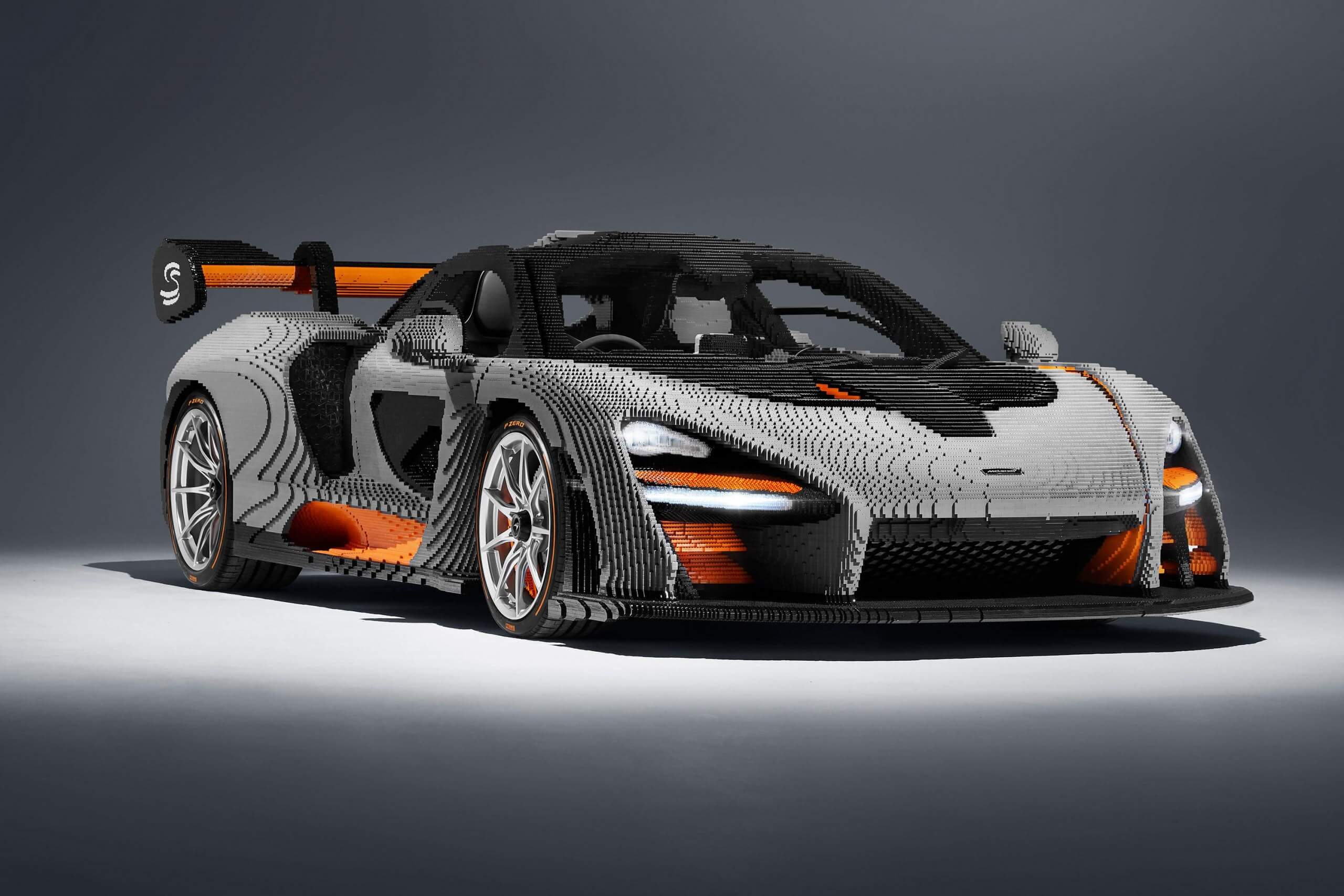Replica ???? Lego S Latest 1 1 Replica Is The Mclaren Senna Which Took Four
