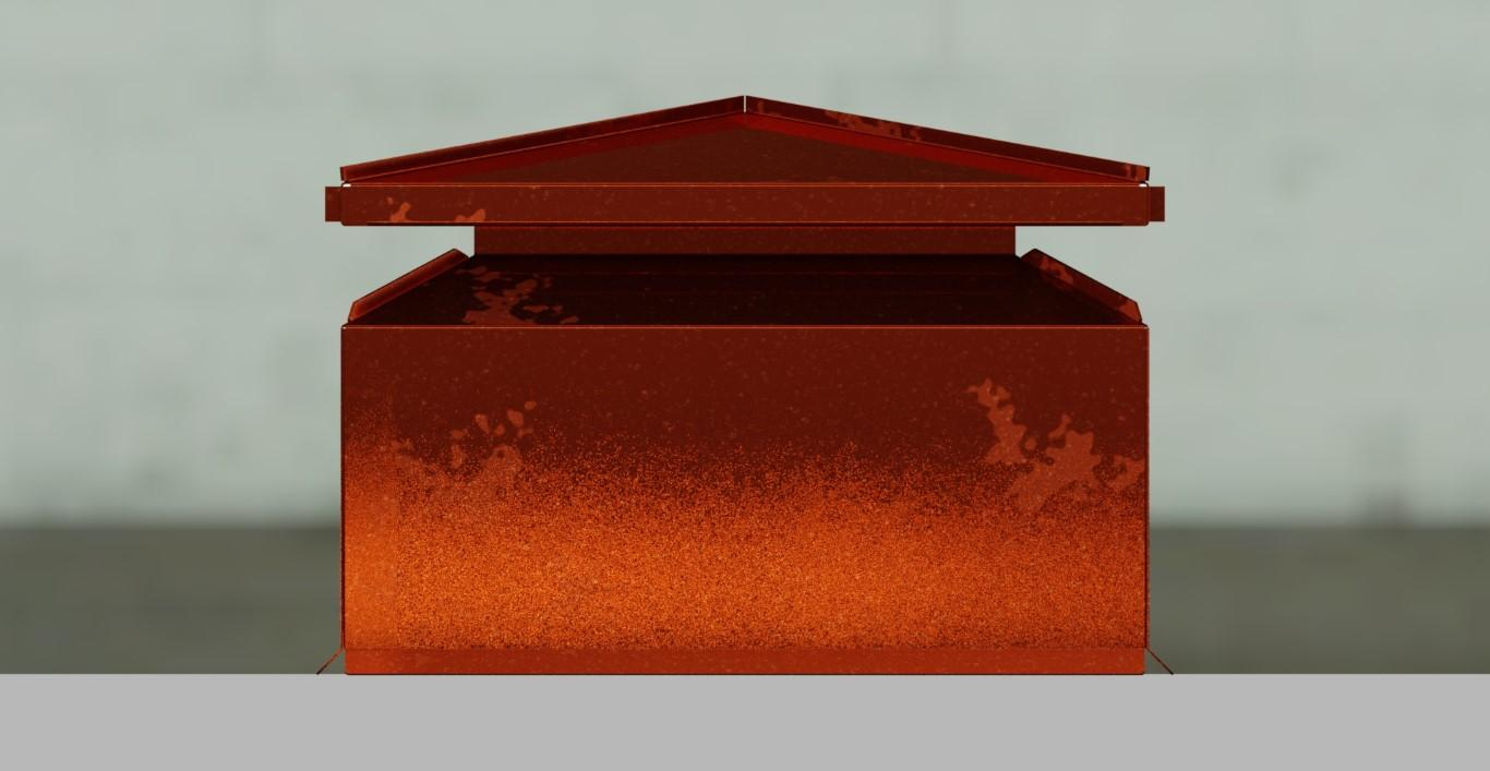Fabricating A Copper Chimney Cap The Fabricator