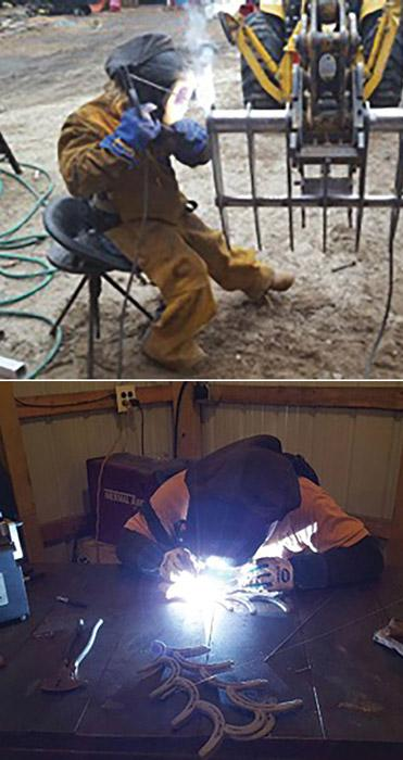Generous spirit forms essence of welder/fabricator/artist - The - welder fabricator