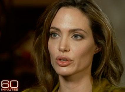 Angelina Jolie on 60 Minutes