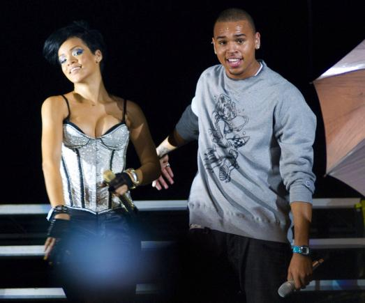 Rihanna and Chris