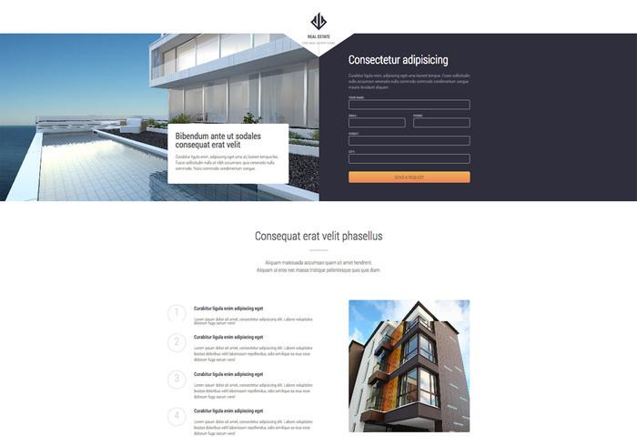 Themezy Real Estate Responsive Wordpress Theme - Free Website
