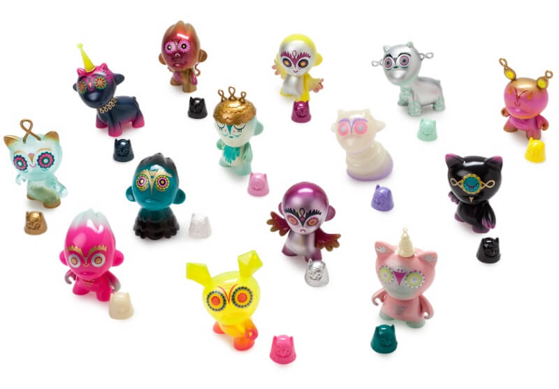 Nightriders Mini Series by Nathan Jurevicius x Kidrobot | The Toy ...