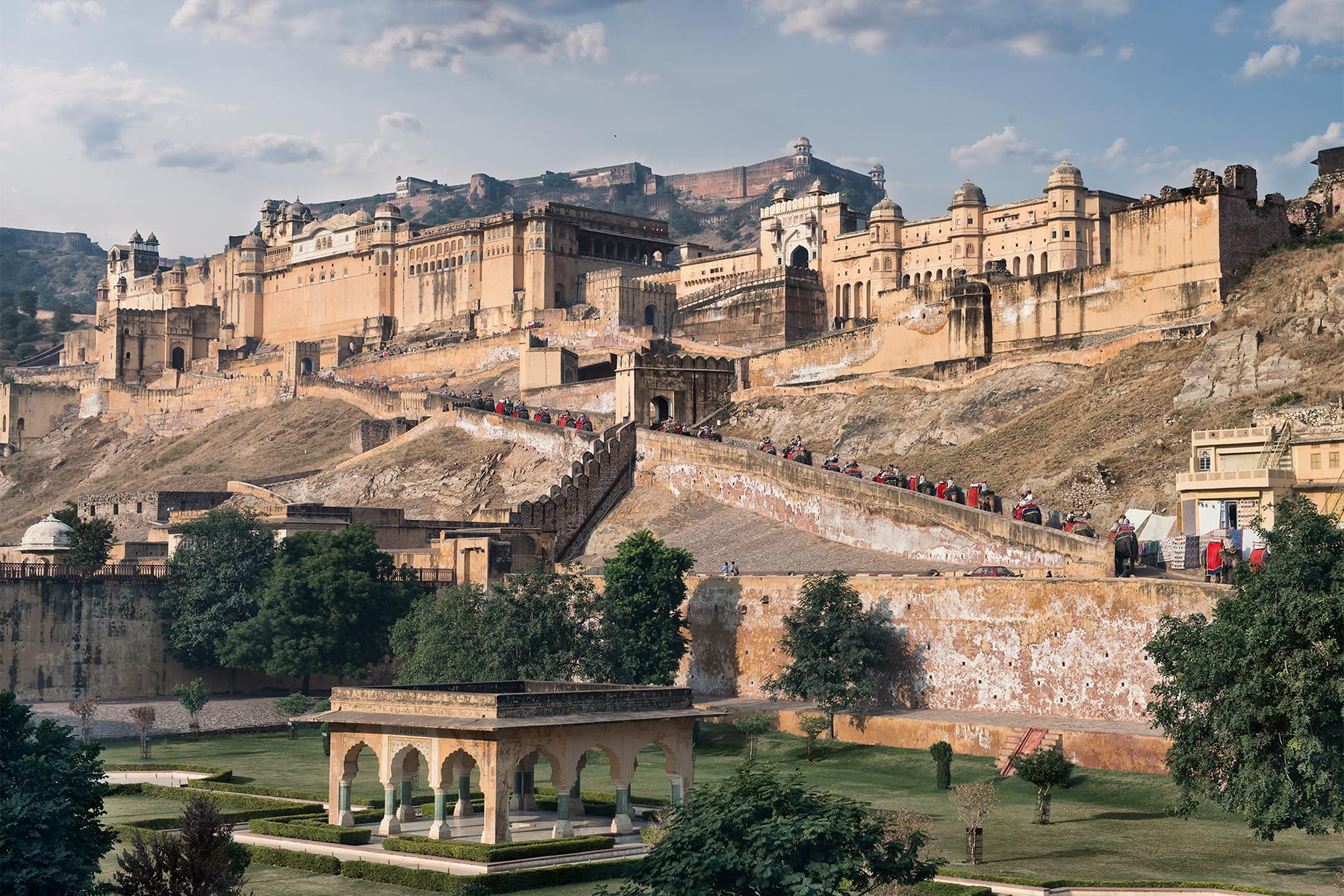 Wallpaper Stone 3d Amer Fort Fortress In Jaipur Thousand Wonders