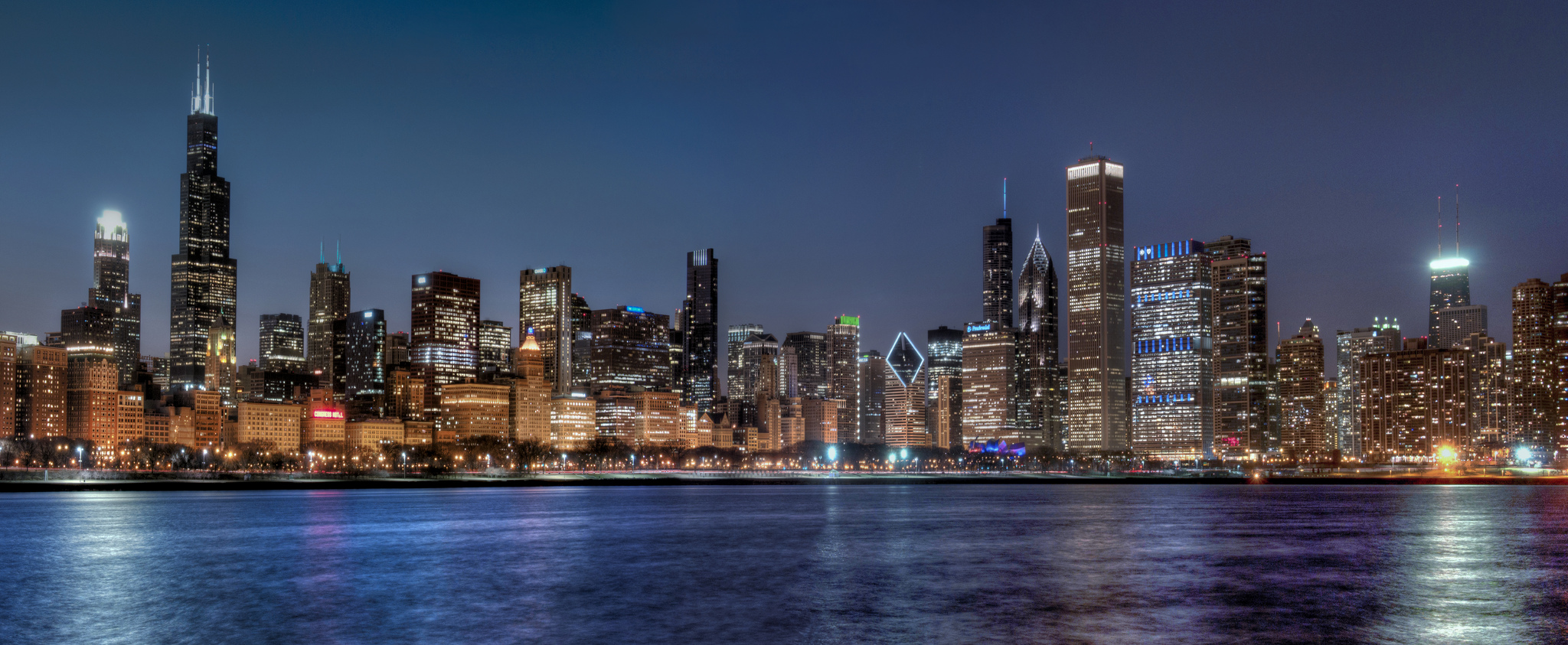 3d Wallpaper New York City Chicago City In Illinois Thousand Wonders