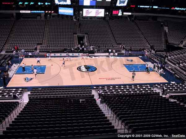 American Airlines Center Seat Views - Section by Section