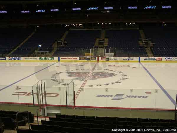 Nationwide Arena Seat Views - Section by Section