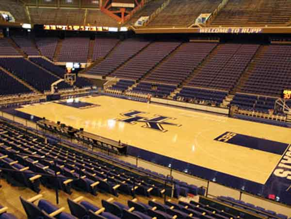 Rupp Arena Seat Views - Section by Section