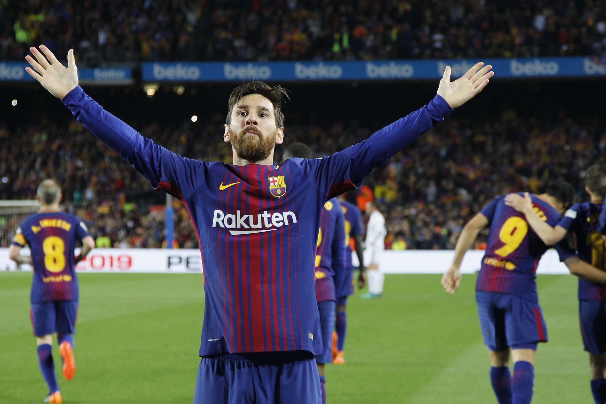 Leo Messi Messi And Barcelona Reportedly To Play In Israel The Times Of Israel
