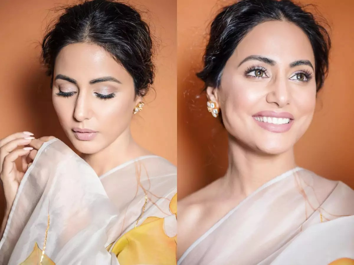 Nude Look 6 Steps To Get Hina Khan's Nude Make-up Look - Times Of India