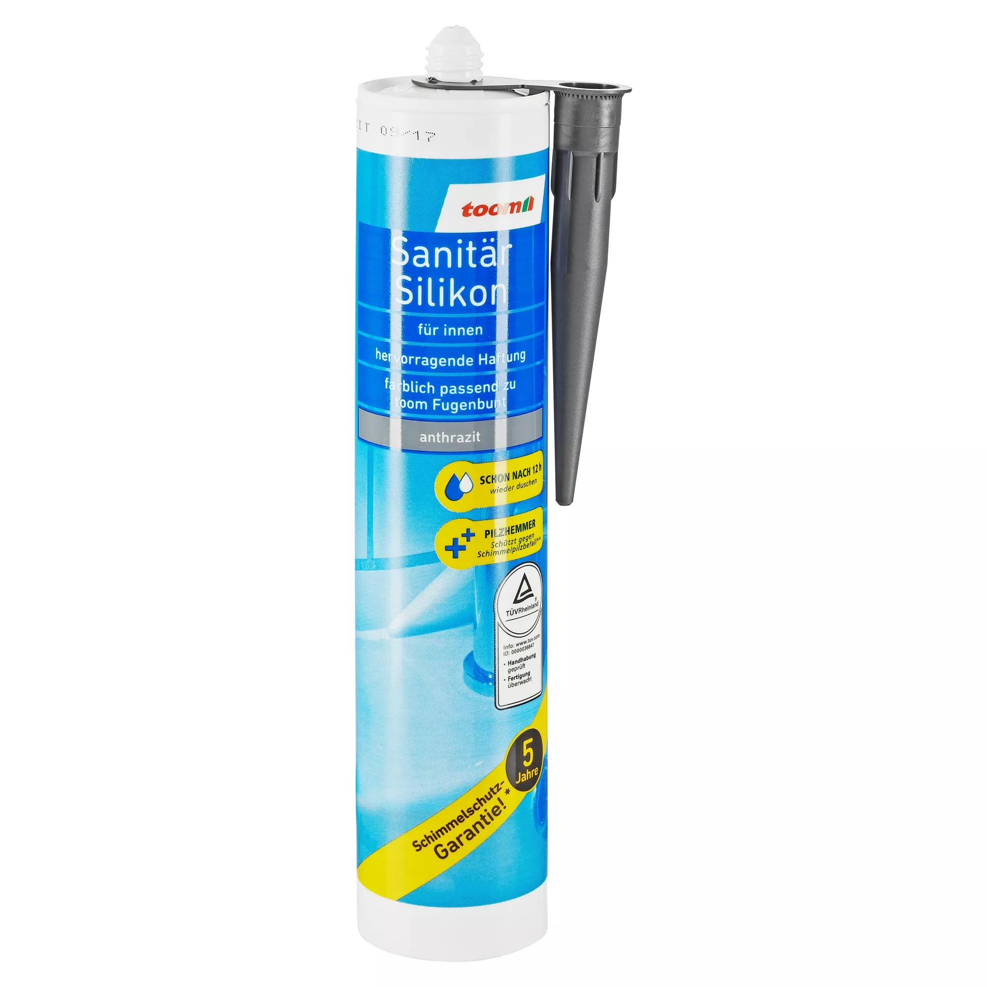 Fliesen Reparatur Stift Anthrazit Sanitärsilikon Anthrazit 310 Ml