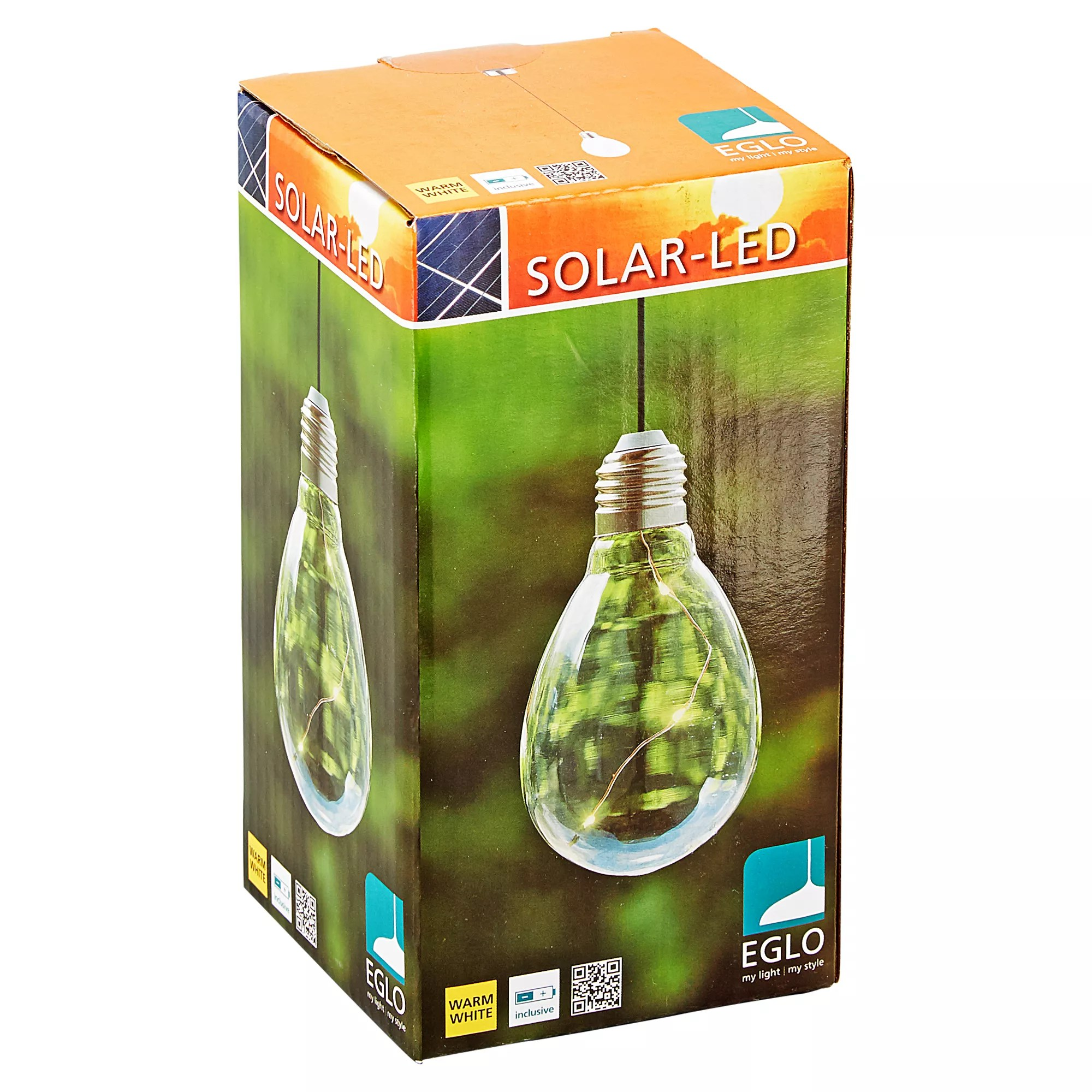 Eglo Solar Hängeleuchte Led Transparent Ip45