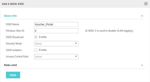 How to Configure Voucher Authentication on Omada Controller? - TP-Link - create voucher