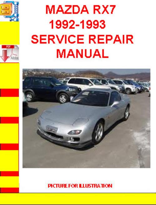 download manual repair rx7
