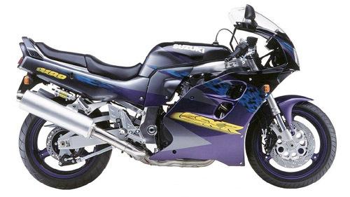suzuki gsx r1100 motorcycle service repair manual 1993 1998 download