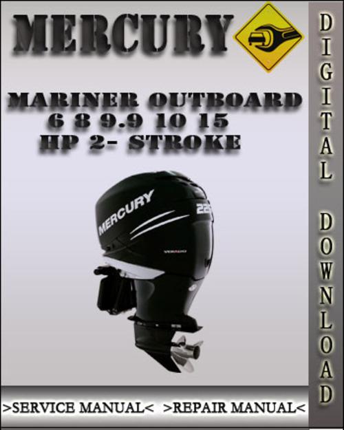 mercury mariner 45 hp 4 stroke factory service repair manual
