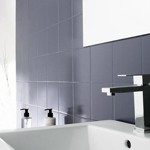 Relooker sa salle de bains à moins de 500\u20ac ! Home staging - Peindre Son Carrelage Salle De Bain