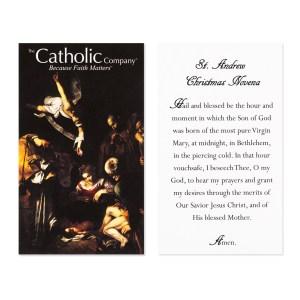Fabulous Usa Restrictions May Apply Andrew Novena Prayer Card Catholic Company Catholic Cards 2017 Catholic Cards Made