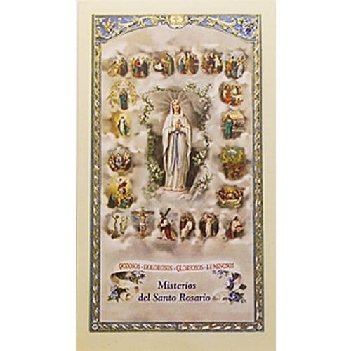 Shopping For Jewelry Misterios Del Santo Rosario (mysteries Of Rosary