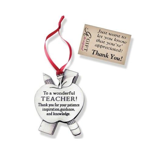 Teacher Message Ornament The Catholic Company