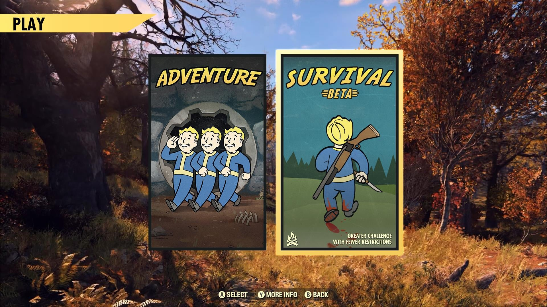 Fallout 76 New Survival Mode Teased For Fallout 76