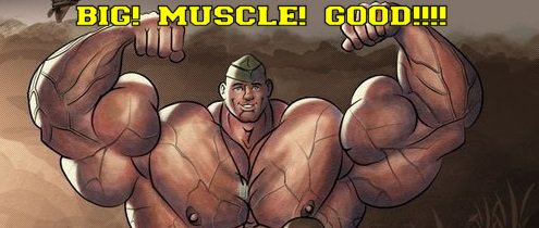 bara yaoi muscle cock growth