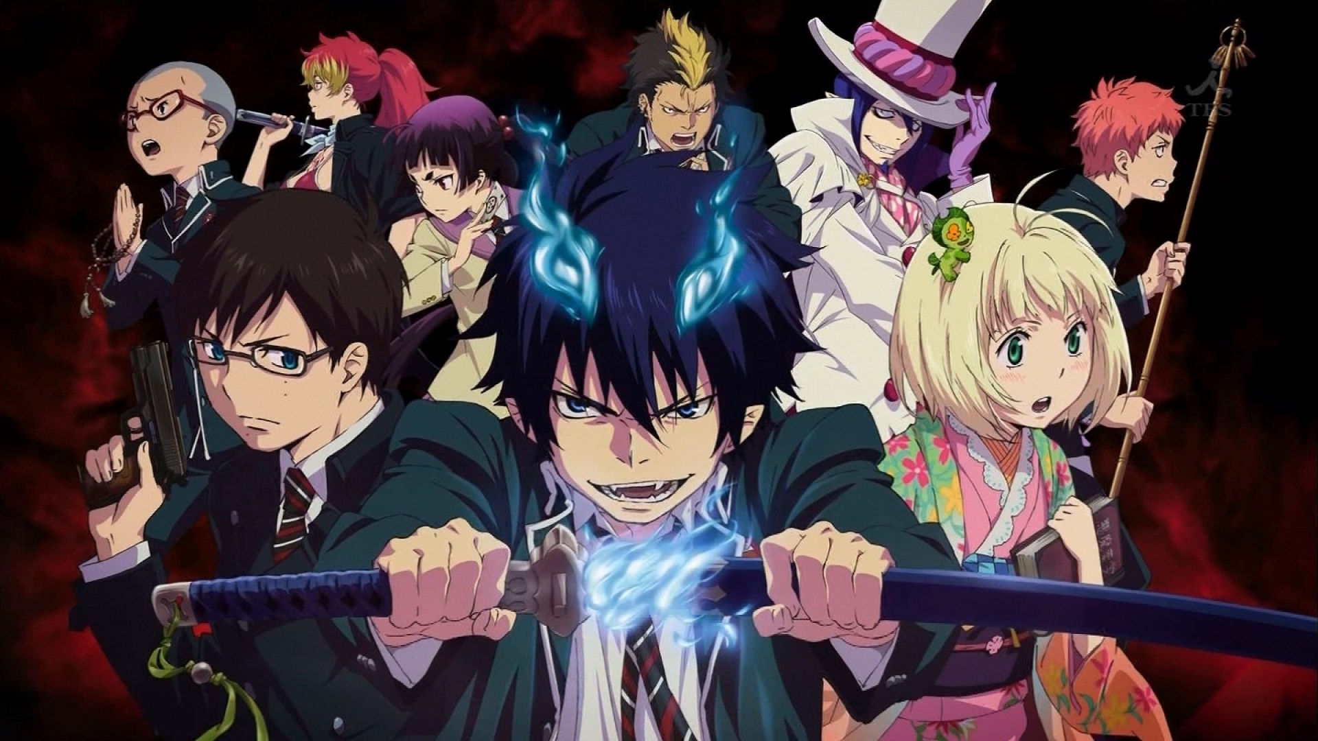 Animes Online Download Anime Ao No Exorcist Episode 1 25 Complete English Subbed Waeeda 1 Year Ago Download Anime 3 031