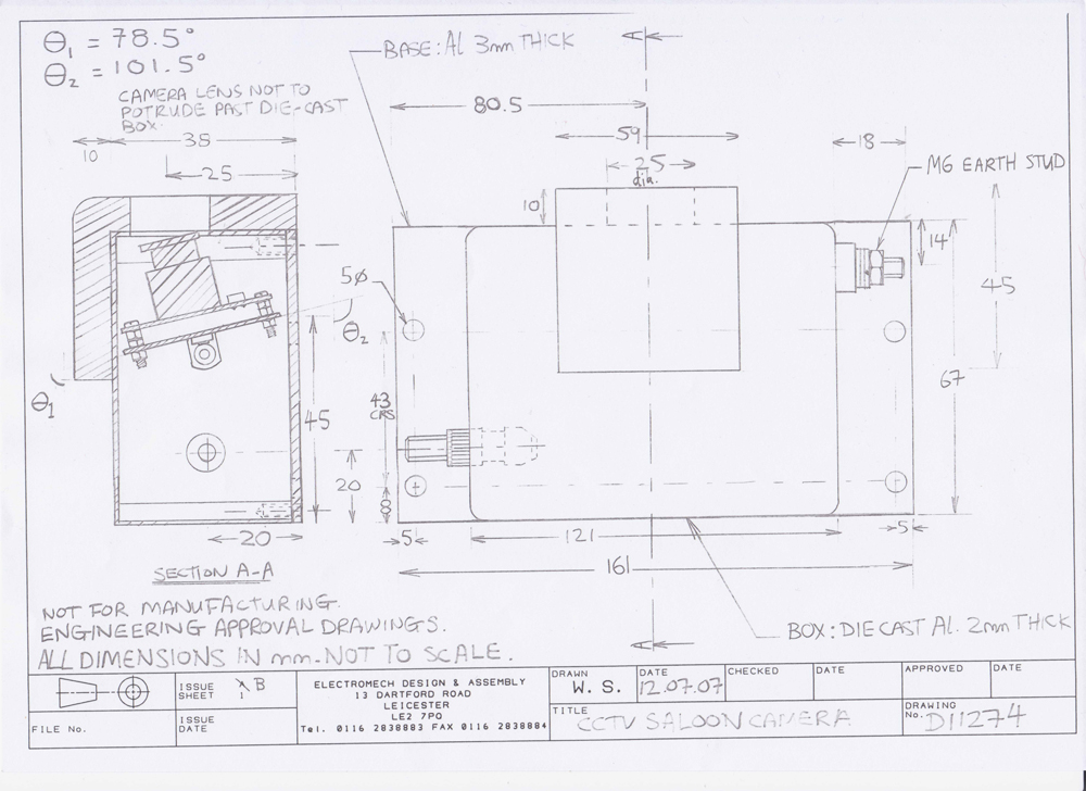 cctv schematic diagram