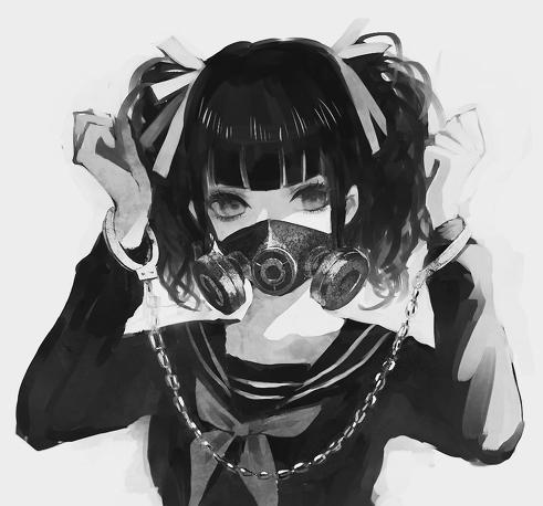 Nice Sad Girl Wallpaper Black Amp White