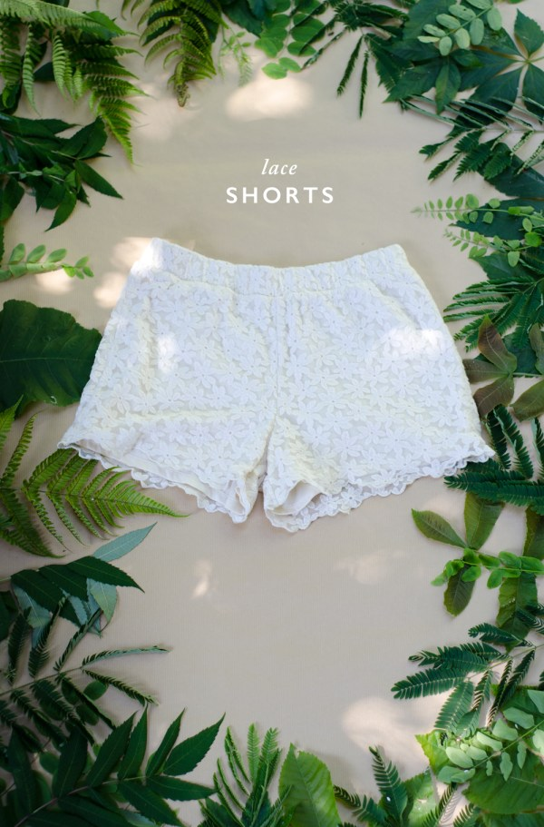 SUMMER ESSENTIALS: Lace Shorts