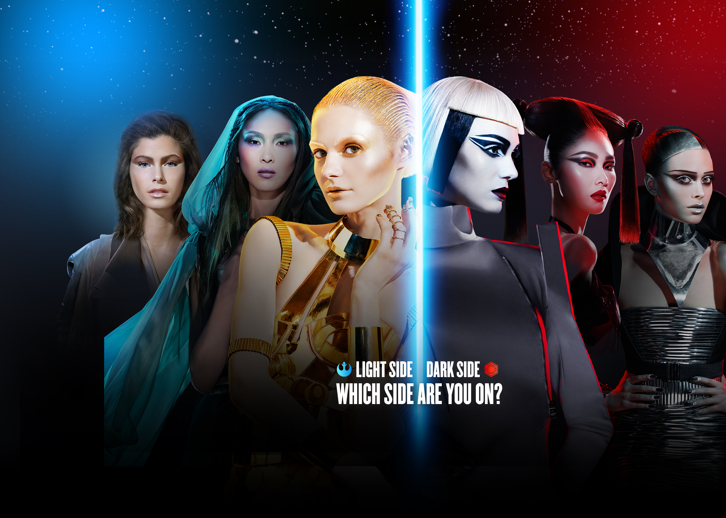 Desktop Wallpaper Stylish Girl Star Wars Limited Edition Collection I Covergirl