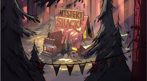 Gravity Falls Summerween Wallpaper Gravity Falls Mysteries The Intro