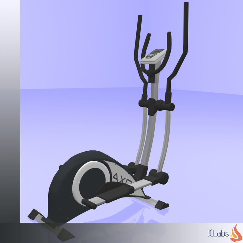 Kettler Fitness 3d Model Kettler Crosstrainer Turbosquid 1198662