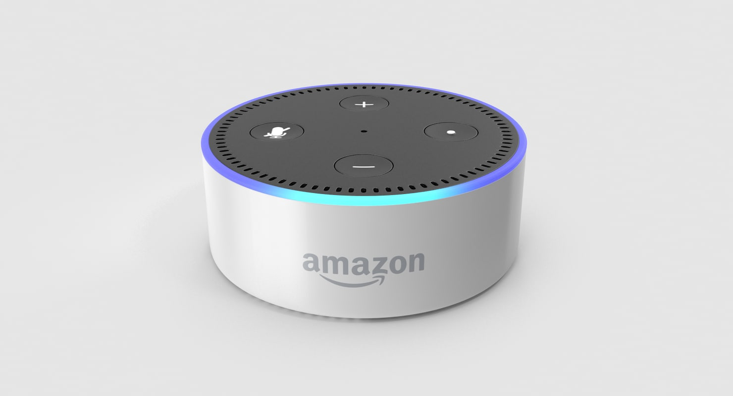 Alexa Dot Animated Amazon Echo Dot White 2nd Generation
