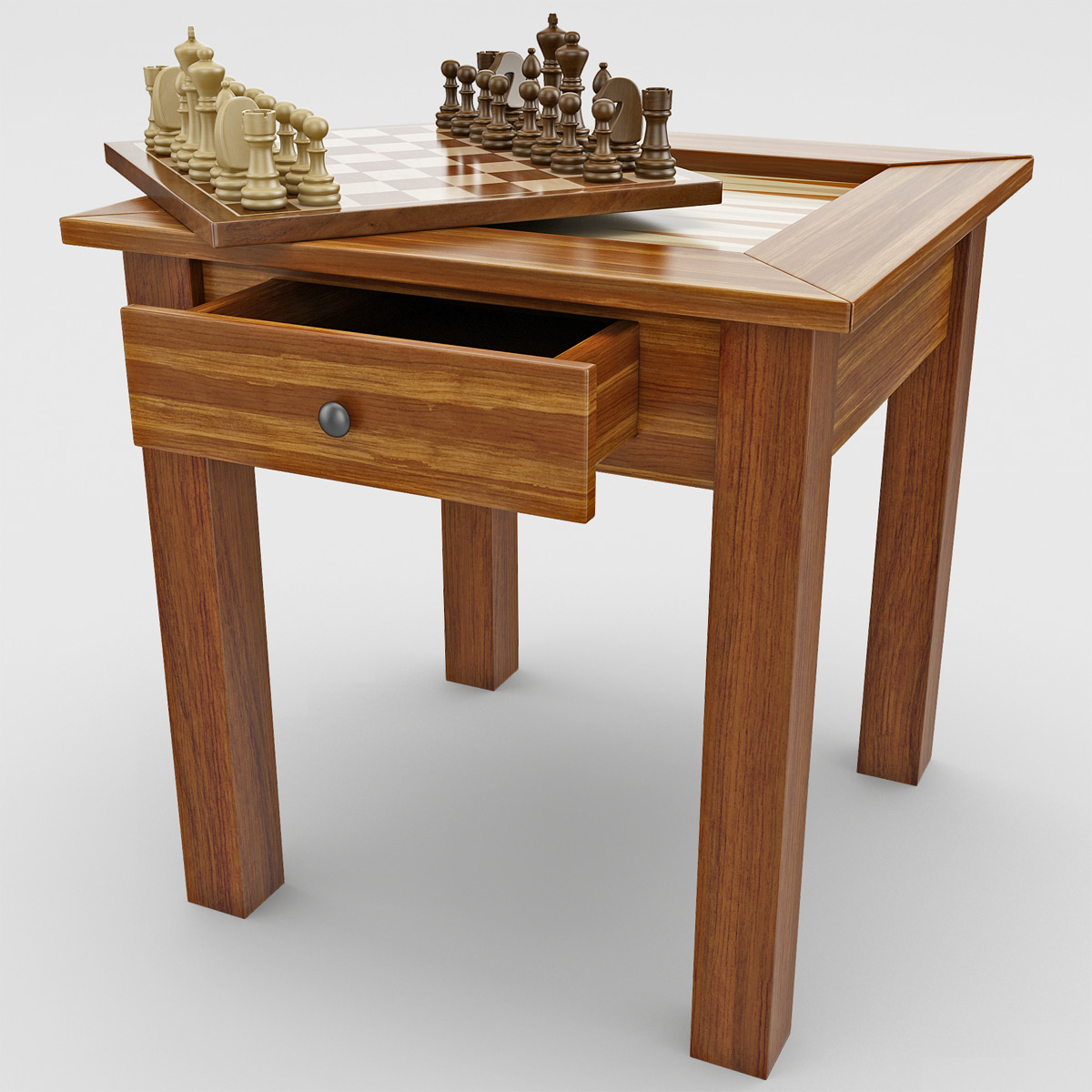 Max A Table Chess Backgammon Table Max