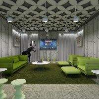 max office lounge interior