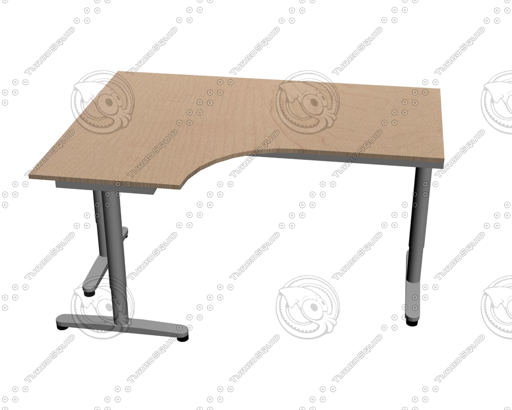 Ikea Table Ikea Galant Desk Left Return Max
