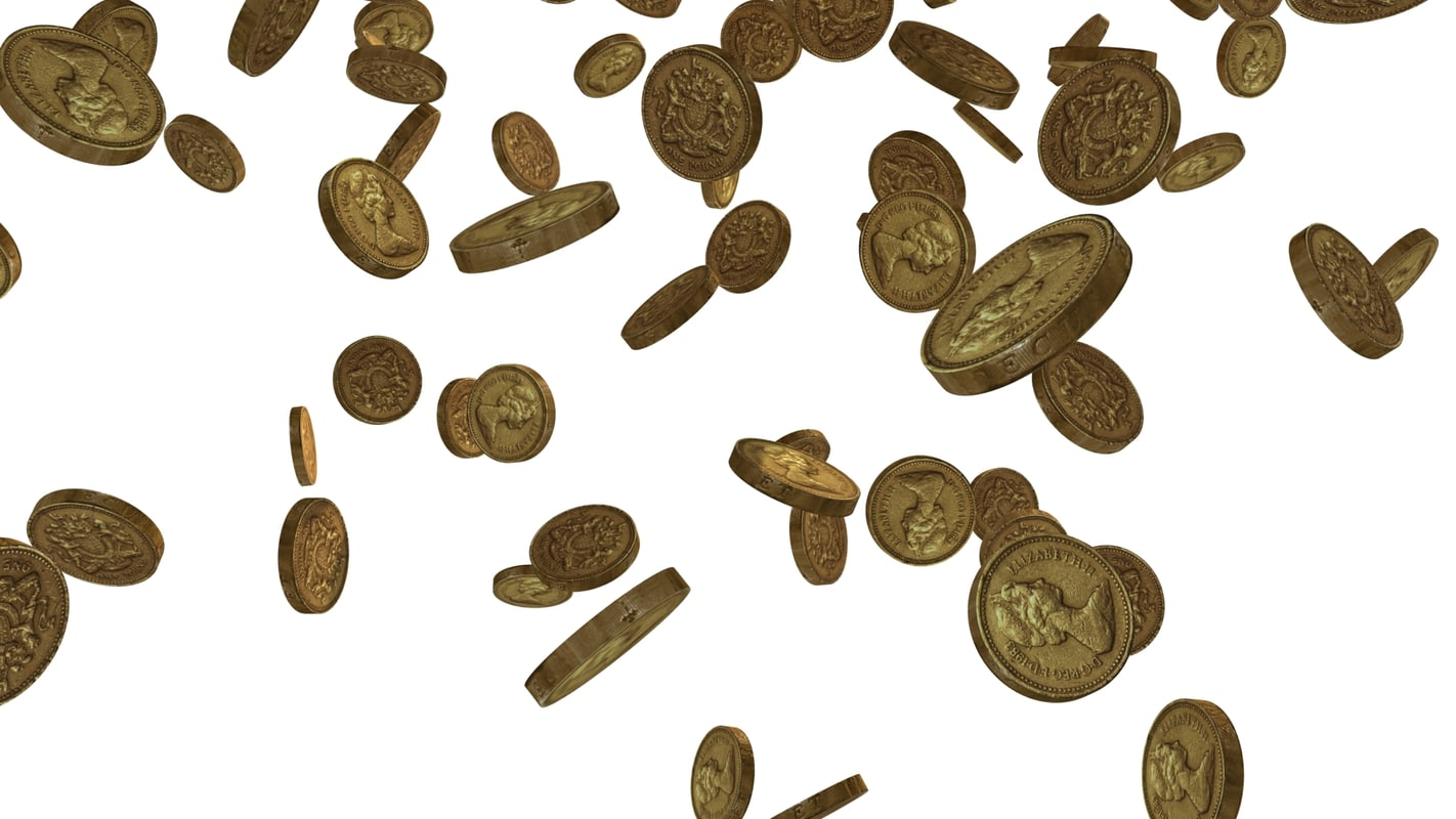 Falling Money 3d Live Wallpaper Max Pound Coins Falling