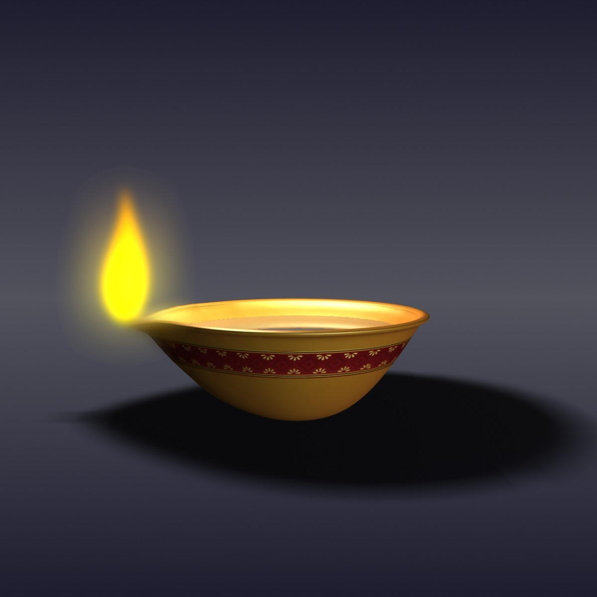Diwali Lamp Designs 3d Diwali Oil Lamp