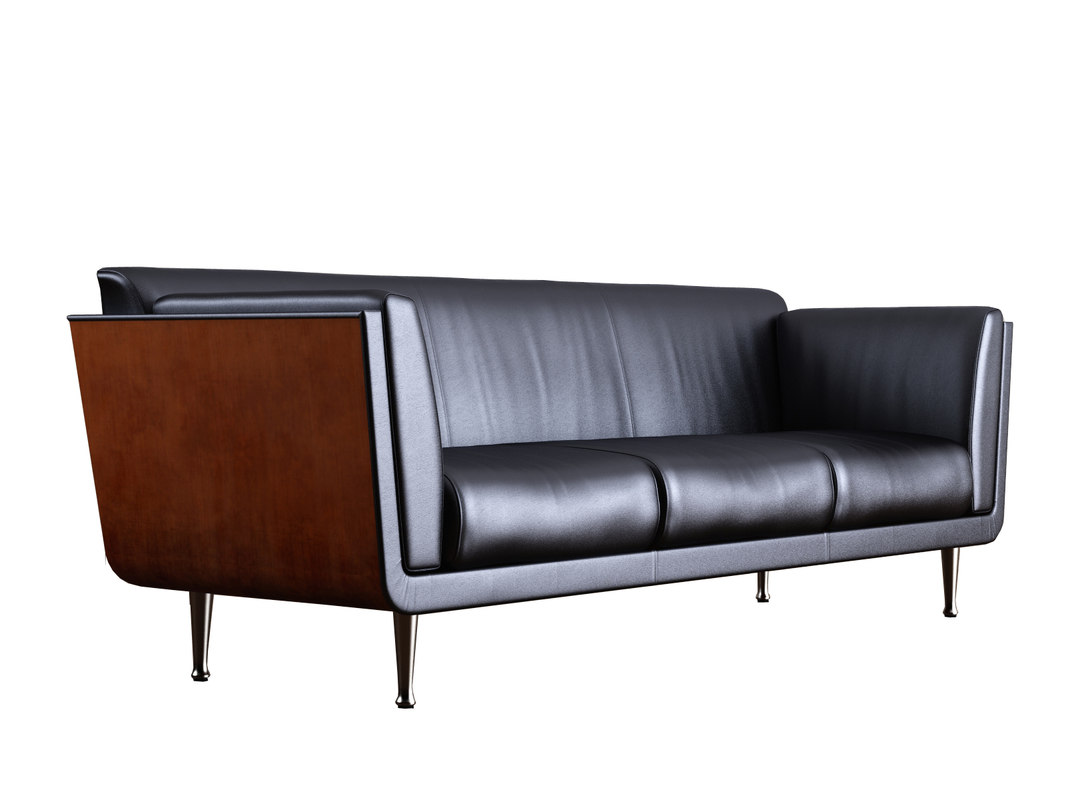 Eames Chair Bim Herman Miller Sofa Revit Module Lounge Seating Herman